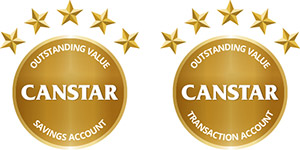 Canstar Outstanding Value Transaction Account and Savings Account 2020